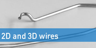 2D and 3D wires